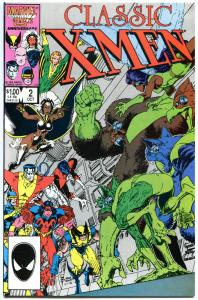CLASSIC X-MEN #2, NM, Adams, Wolverine,Storm, Bolton,1986, more in store