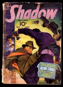 THE SHADOW-JAN 1 1942-ALIBI TRAIL-LOW GRADE FR