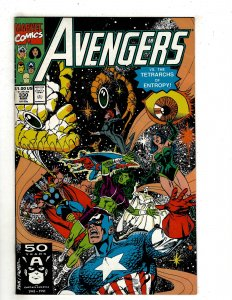 The Avengers #330 (1991) YY7