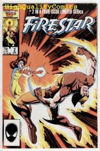 FIRESTAR #2, NM+, Wolverine, 1986, Pawn,  X-men, Tom DeFalco, more in store
