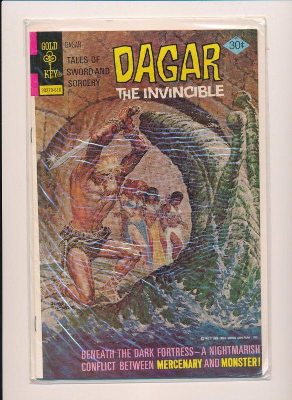 Gold Key Comics DAGAR The Invincible  #17 GOOD/VERY GOOD  (SRU487)
