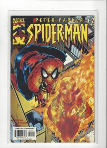Peter Parker Spider-Man (Vol 2) #21 Human Torch  Marvel Comic VF/NM
