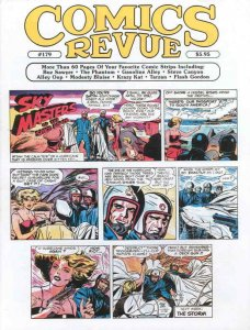 Comics Revue #179 VF/NM; Comics Interview   save on shipping - details inside