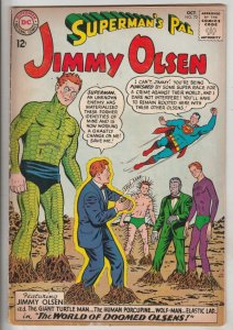 Jimmy Olsen, Superman's Pal  #72 (Oct-63) VG/FN+ Mid-Grade Jimmy Olsen