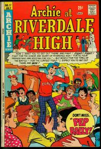 ARCHIE AT RIVERDALE HIGH #17-JUGHEAD/BETTY/VERONICA FN