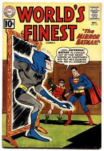 World's Finest #121 Batman Superman Green Arrow 1961 Dc Fn
