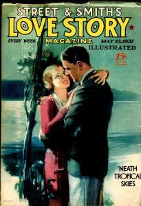 Love Story 5/23/1931-Modest Stein-pulp fiction-nice interior art-VF