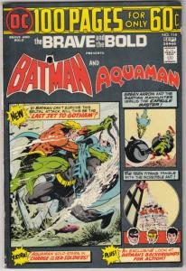 Brave and the Bold, The #114 (Sep-74) VF/NM High-Grade Batman, Aquaman