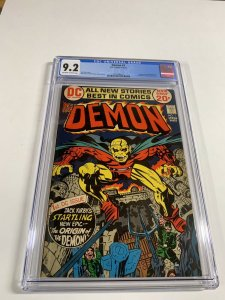 Demon 1 Cgc 9.2 Ow/w Pages Dc Comics Bronze Age Jack Kirby 2031406017