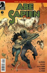 Abe Sapien: Dark and Terrible #7 VF; Dark Horse | save on shipping - details ins