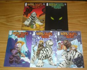 Lions Tigers and Bears vol 2 #1-4 VF/NM complete series + variant - all ages fun