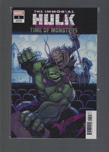 Immortal Hulk: Time of Monsters #1