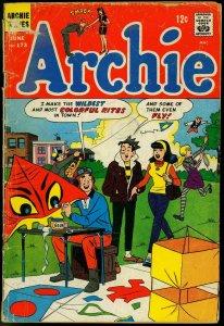 ARCHIE COMICS #173-BETTY/VERONICA/JUGHEAD/ETC FR/G