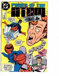 Lot Of 7 Power Of The Atom DC Comic Books # 5 6 7 8 9 10 11 Batman Flash J271