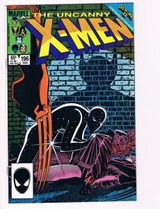 Uncanny X-Men # 196 Marvel Comic Books Hi-Res Scans Modern Age Awesome Issue! S2