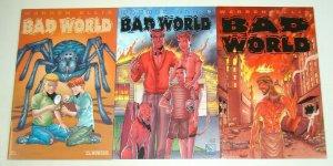 Bad World #1-3 FN/VF complete series - warren ellis - regular covers - avatar