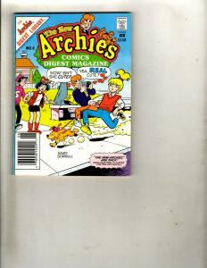 Lot of 8 Archie Digest Library Pocket Books #1 2 6 8 10 11 12 13 WS15