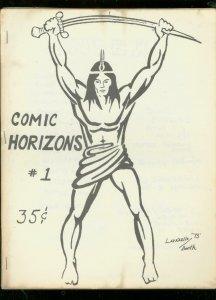 COMIC HORIZONS FANZINE #1-EAST COAST COMIX EC REPRINTS VG/FN