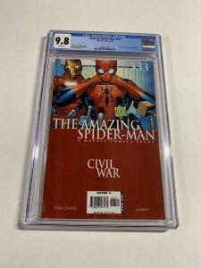Amazing Spider-man 533 Cgc 9.8 White Pages Civil War Marvel