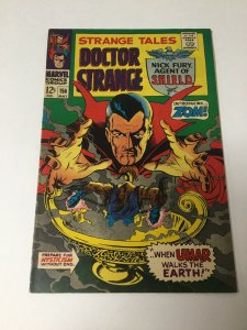 Strange Tales 156 Vf+ Very Fine+ 8.5 Marvel Silver Age