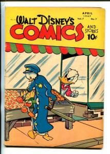 WALT DISNEY'S COMICS AND STORIES #79-1947-DELL-CARL BARKS-MICKEY-DONALD DUCK-vg