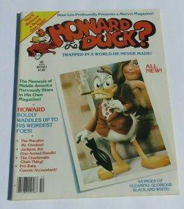 Howard The Duck #1 VF+ WP High Grade 1979 Marvel Magazine Movie TV Pop Culture