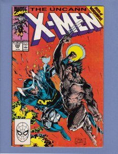 X-Men #258 VG Jim Lee Cover and Art