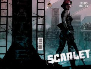 Scarlet #1 (2nd) VF/NM; Icon | save on shipping - details inside