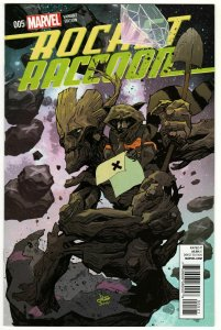 Rocket Raccoon #5 Variant Edition (Marvel, 2015) NM