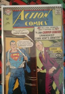 Action Comics #345 (DC, 1966) Condition: FN/VF+