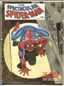 SPECTACULAR SPIDER-MAN #1-Romita art-1968-MAGAZINE SIZE-COLOR G