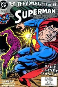 Adventures of Superman (1987 series) #482, NM- (Stock photo)