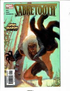 11 Marvel Comics Sabretooth # 1 2 3 4 + Rogue #1 2 3 4 + Rogue Icons #2 3 4 CR62