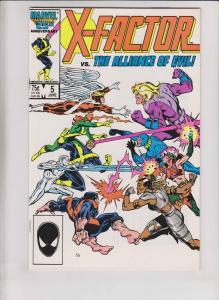 X-Factor #5 VF first appearance of apocalypse (cameo) - louise simonson