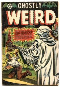 Ghostly Weird Stories #121- LB COLE HORROR COVER - g/vg