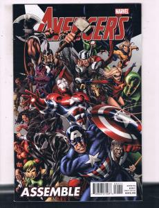 Avengers Assemble #1 VF Marvel Comics Comic Book DE15