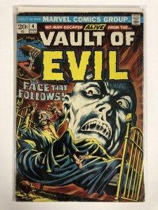 VAULT OF EVIL (1973) 4 G Aug. 1973 COMICS BOOK