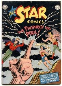 All Star Comics #50 1949 Wonder Woman- Frazetta VG/F