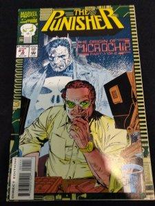 The Punisher Origin of Microchip #1 of 2 1993 Marvel Comic