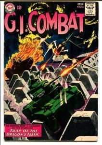 G.I. COMBAT #98-HAUNTED TANK-DC WAR G/VG