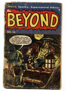 Beyond #23 1953-Ace-graveyard ghoul-python queen-pre-code horror-incomplete