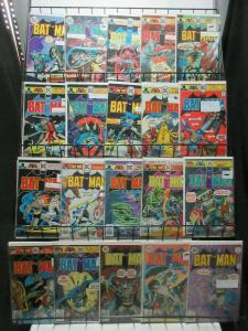 Batman (DC 1975-78) #264-299 Lot of 30Diff Denny O'Neill Grell Aparo Chan