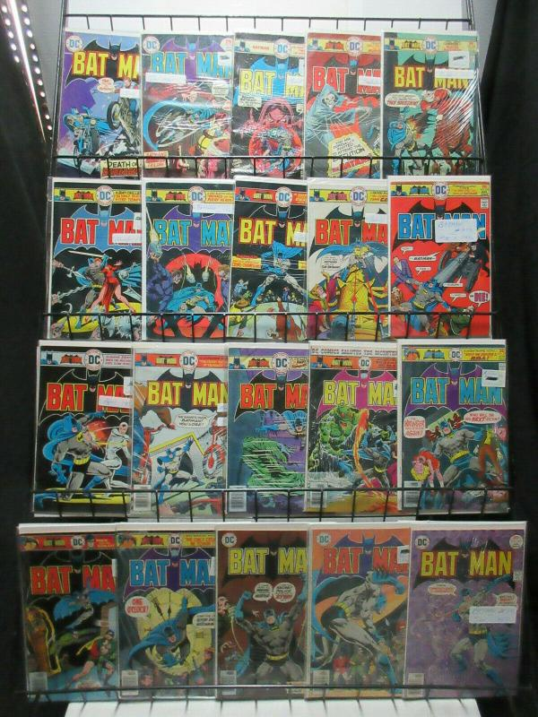 Batman (DC 1975-78) #264-299 Lot of 30Diff Denny O'Neill Grell Aparo Chan