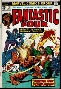 Fantastic Four #148, 4.0 or Better - vs Wizard