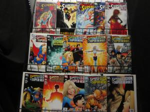 SUPERGIRL Comics 25 diff issues 1996-2008 with Legion of Super Heroes F-VF+