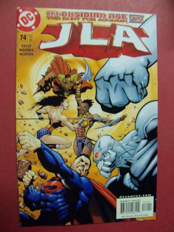 JUSTICE LEAGUE OF AMERICA  #74 VF/NM OR BETTER DC COMICS