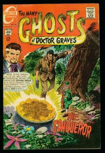 THE MANY GHOSTS OF DOCTOR GRAVES #14 1969-CHARLTON COMICS-vg