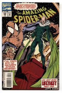 AMAZING SPIDER-MAN #386-comic book-MARVEL COMICS NM- VULTURE