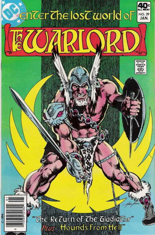 Warlord (DC) #29 VF; DC | save on shipping - details inside