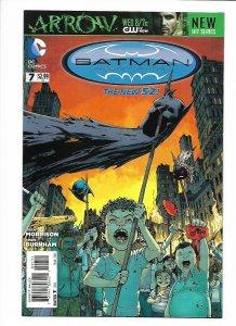 Batman Incorporated #7 DC New 52 NM 9.4+ (2013) Chris Burnham cover.
